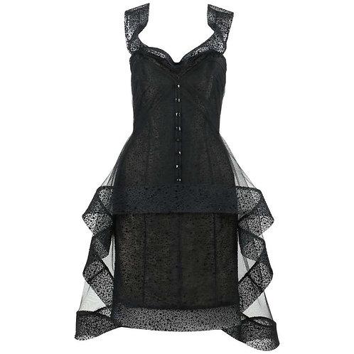 Alex Teih Avant Garde Cocktail Dress