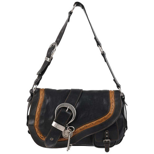 "Christian Dior ""Gaucho"" Saddle Bag"