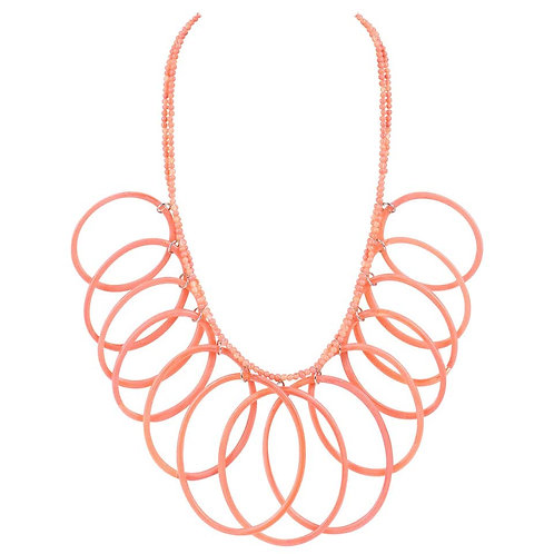 Missoni Oval Hoops Necklace