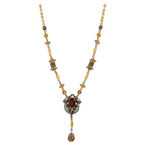 Art Nouveau c.1920's Pendant Necklace