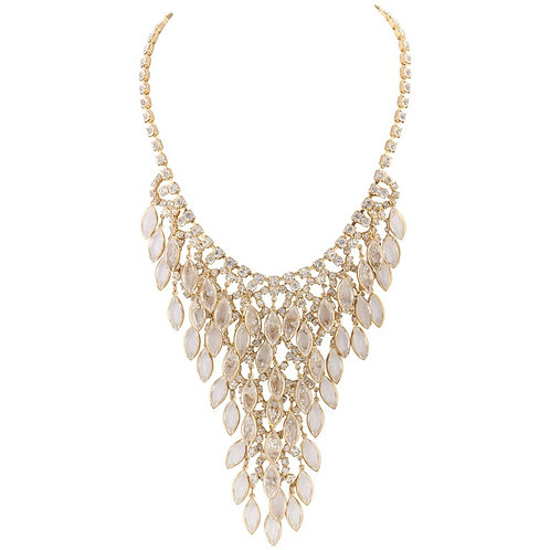 Juliana D&E Chandelier Bib Necklace