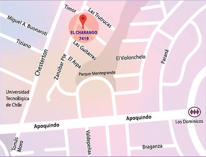 Mapa Pranema