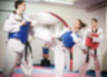 Tae Kwan Do Practice