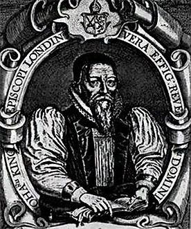 Portrait sketch of Bishop John King