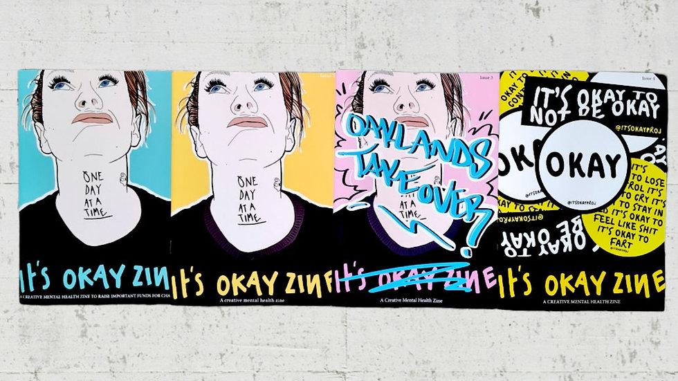 It's OKAY Zine Bundle x 4