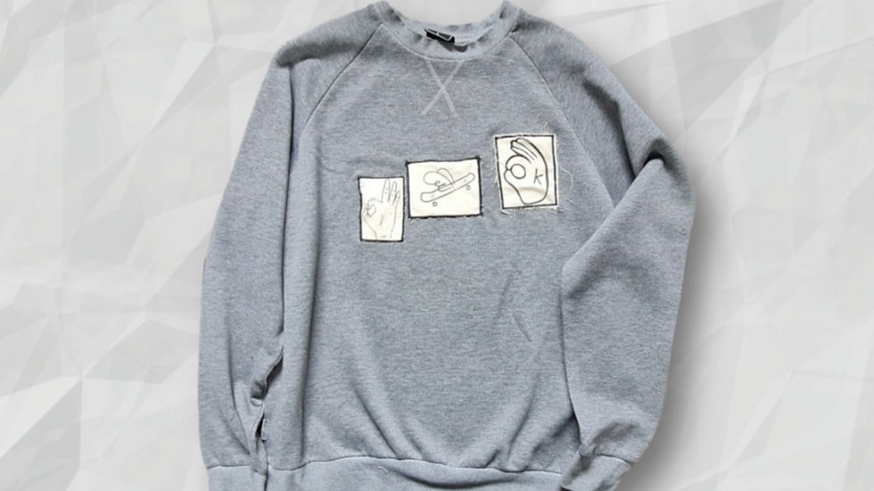 OKAY Sweatshirt L