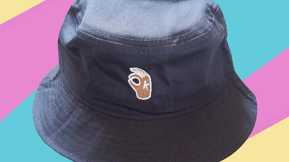 It's OKAY Bucket Hat - Navy