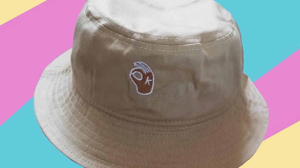 It's OKAY Bucket Hat -Sand