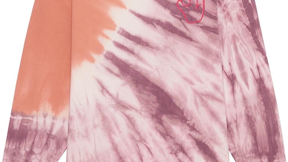 Luxury Tie Dye Mauve/Rose