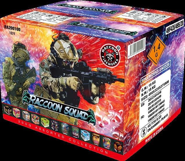 Raccoon Squad Assortment