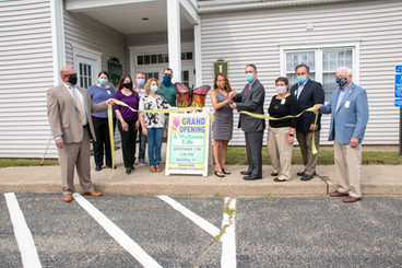 A wellness life ribbon cutting monroe ct 06468