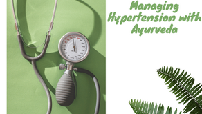 Managing Hypertension with Ayurveda