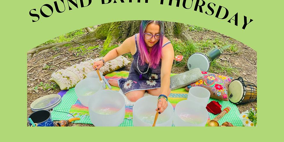 Sound Bath Thursday