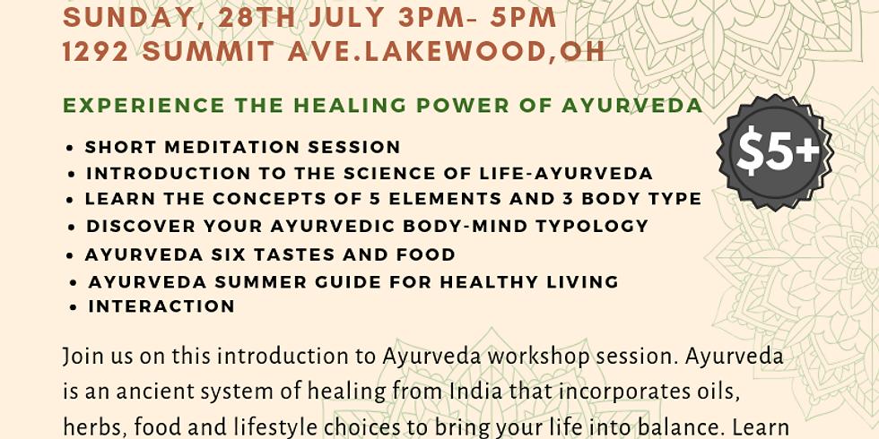 Ayurveda Workshop with Shilpika Devaiah