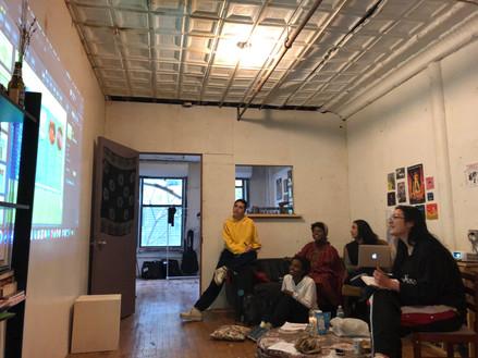 Workshop at NY
