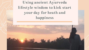 Ayurveda Morning Checklist
