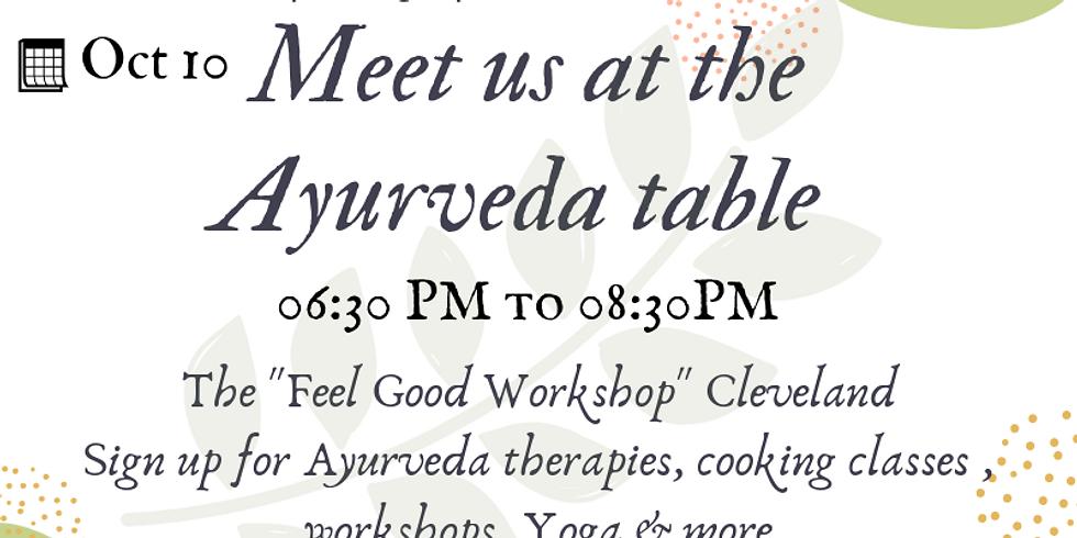 Ayurveda Table @Townhall