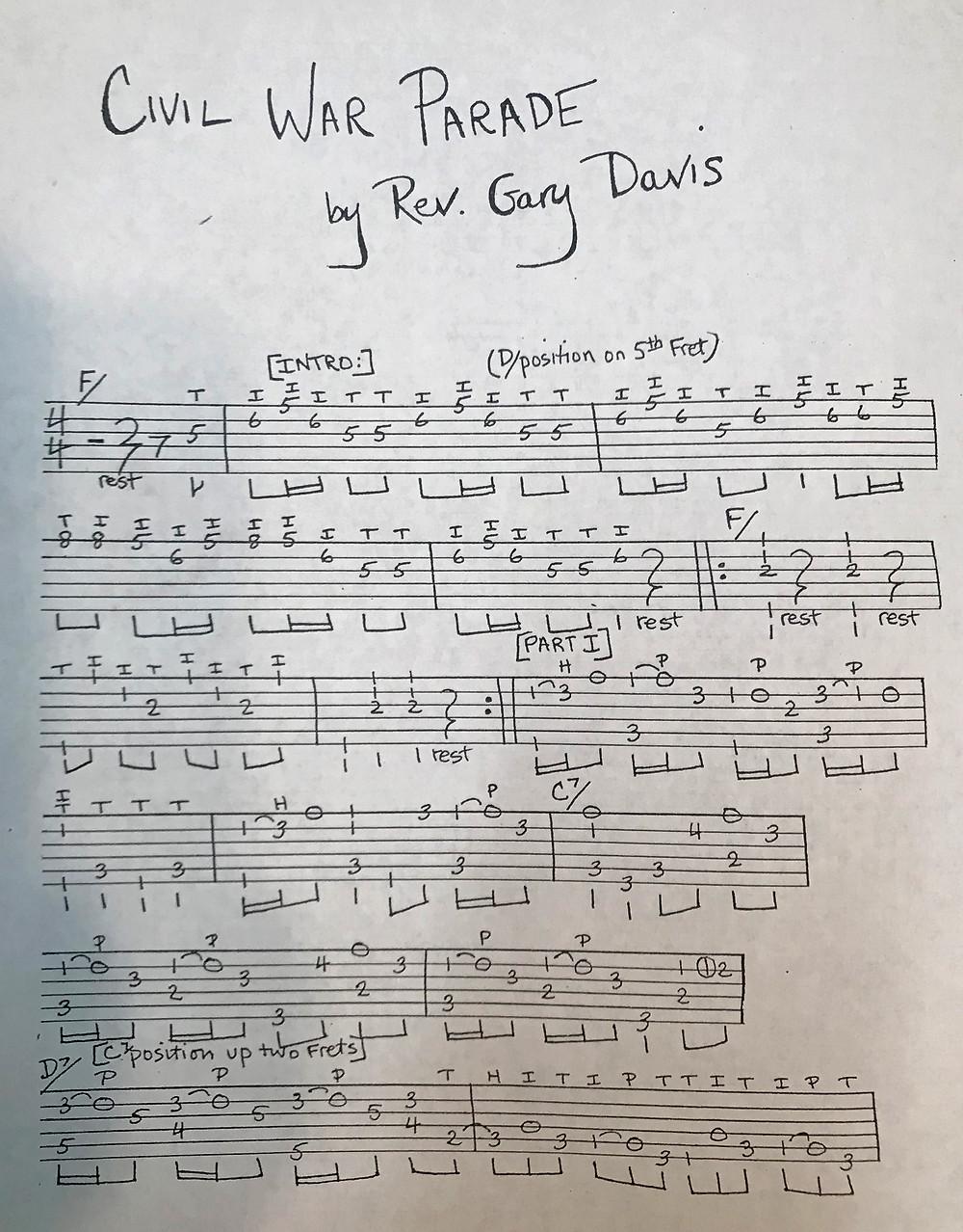 Reverend Gary Davis 1