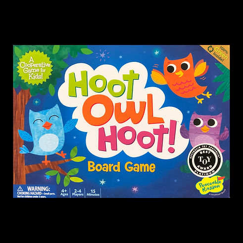 Hoot Owl Hoot! : A Cooperative game for kids