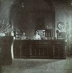 Library staff circa 1890