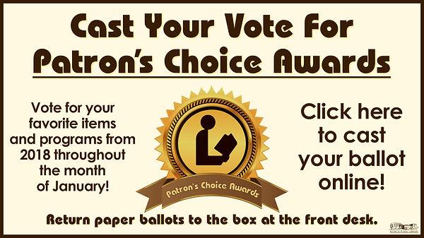 Patrons Choice Awards Widescreen for Web
