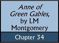 Anne of Green Gables, Chapter 34