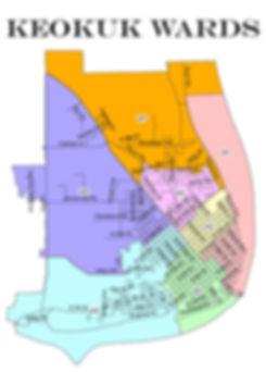 Keokuk Wars Map 2012