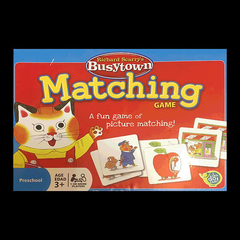 Matching Game, Richard Scarry's Busytown