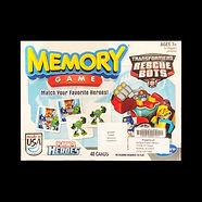 Memory Game : Transformers Rescue Bots - Match your favorite heroes!