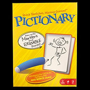 Pictionary (now with markers and erasable boards)
