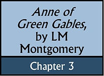 Anne of Green Gables, Chapter 3