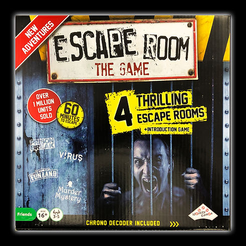 Escape Room: The Game (4 thrilling escape rooms + introduction game)