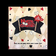 Name Your Game! : The all-in-one dice and card set (you choose the game!)