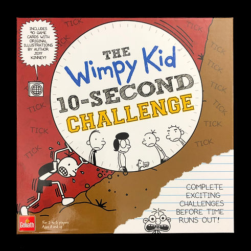 The Wimpy Kid 10-Second Challenge