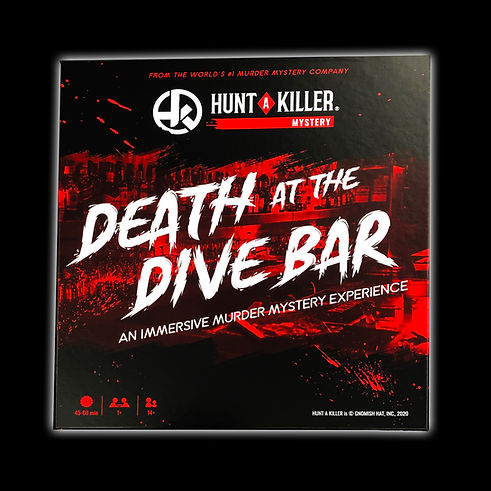 Hunt a Killer: Death at a Dive Bar : An immersive murder mystery experience