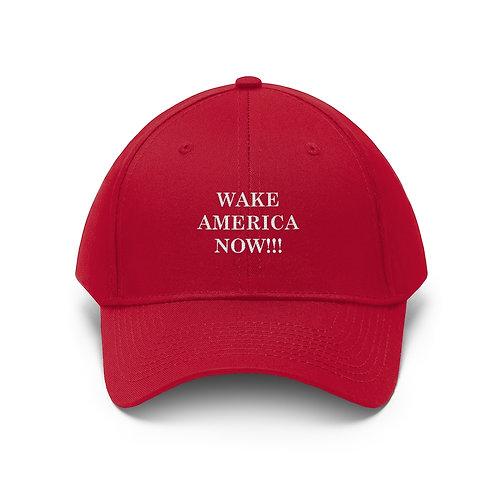 SPW Wake America Now!!! Hat Unisex Twill Hat