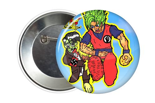 GOKU VS HILTER PIN