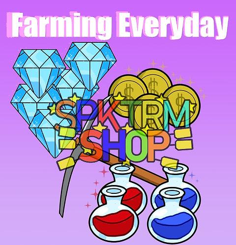 EVERYDAY IM FARMING Sticker