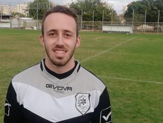 גיא יריב, שוער, בן 22 מצטרף למכבי קביליו יפו
