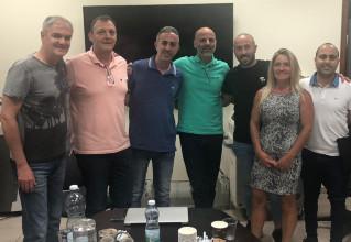 ישיבת התנעה של הוועד המנהל בהשתתפות החברים החדשים
