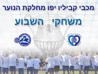 משחקי גביע במחלקת הנוער , רביעי 20 לדצמבר