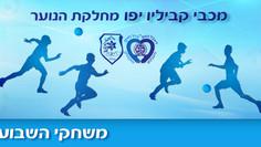 משחקי המחזור הקרוב במחלקת הנוער מבוטלים, 14-17 למרץ