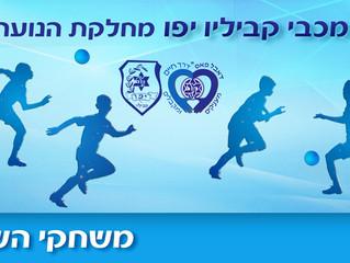 משחקי המחזור הקרוב במחלקת הנוער, 28-29 לפברואר
