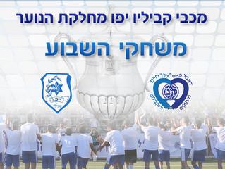 משחקי סוף השבוע הקרוב במחלקת הנוער, 23 לפברואר