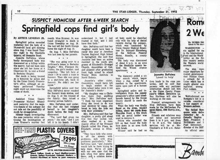 Springfield cops find girls body