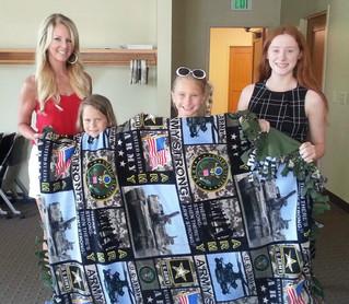 CKR Community Blanket Making Event