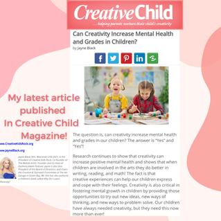 Creative Child Magazine Article