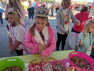 Creative Kids rock at Kid Zone The American Heart Association GB Walk