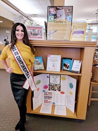 CKR October Dyslexia Awareness Display at Kress Library