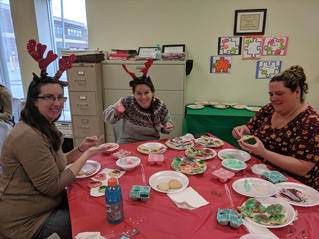 Down Syndrome Cookie Making Event! CKR making ornaments
